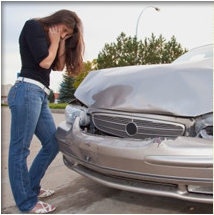Difference between car accident damage and personal injury