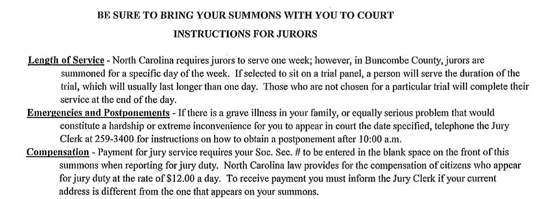 Jury-Duty-Summons-Buncombe-County-NC