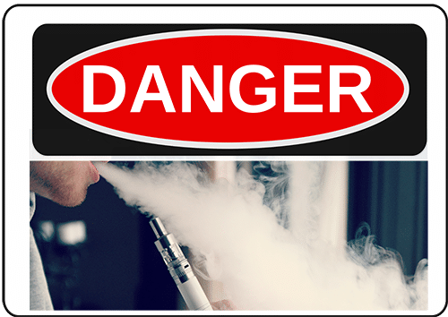 Dangers of eCigs