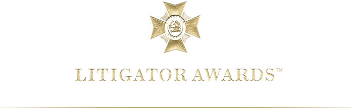 Litigator-Awards-best lawyer - north carolina