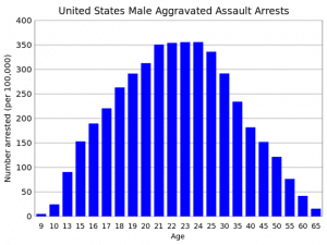 Aggravated Assault by Males