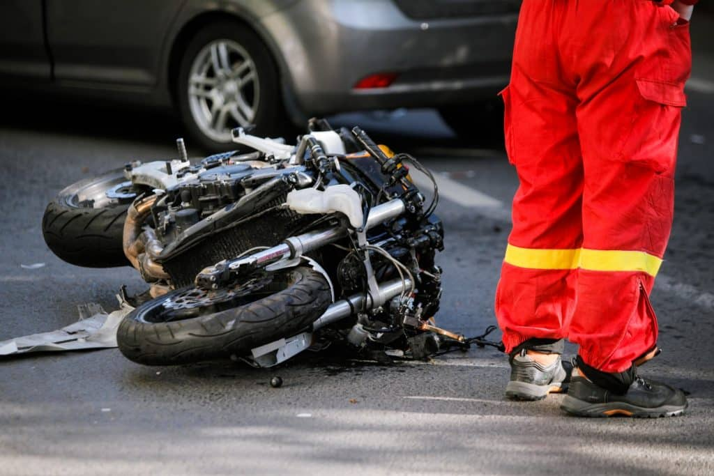 motorcycle crash - what to do after the crash - motorcycle accident lawyer